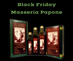 black friday olio extravergine di oliva