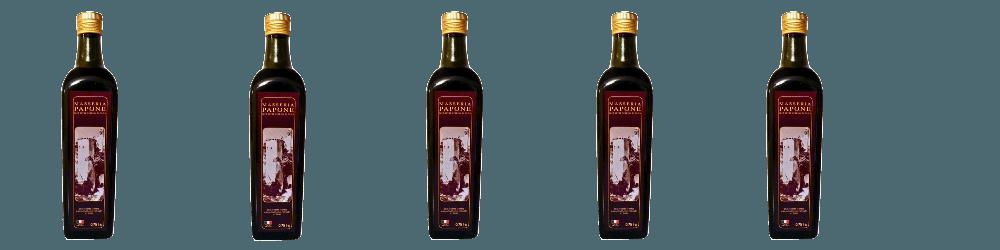 bottiglie olio extravergine di oliva