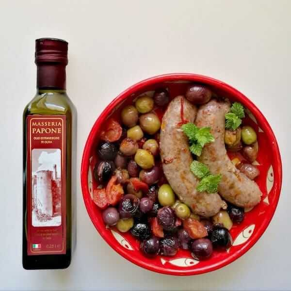 bottiglia 0,25 litri olio extravergine di oliva