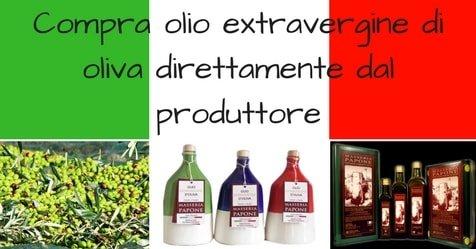 Compra olio italiano