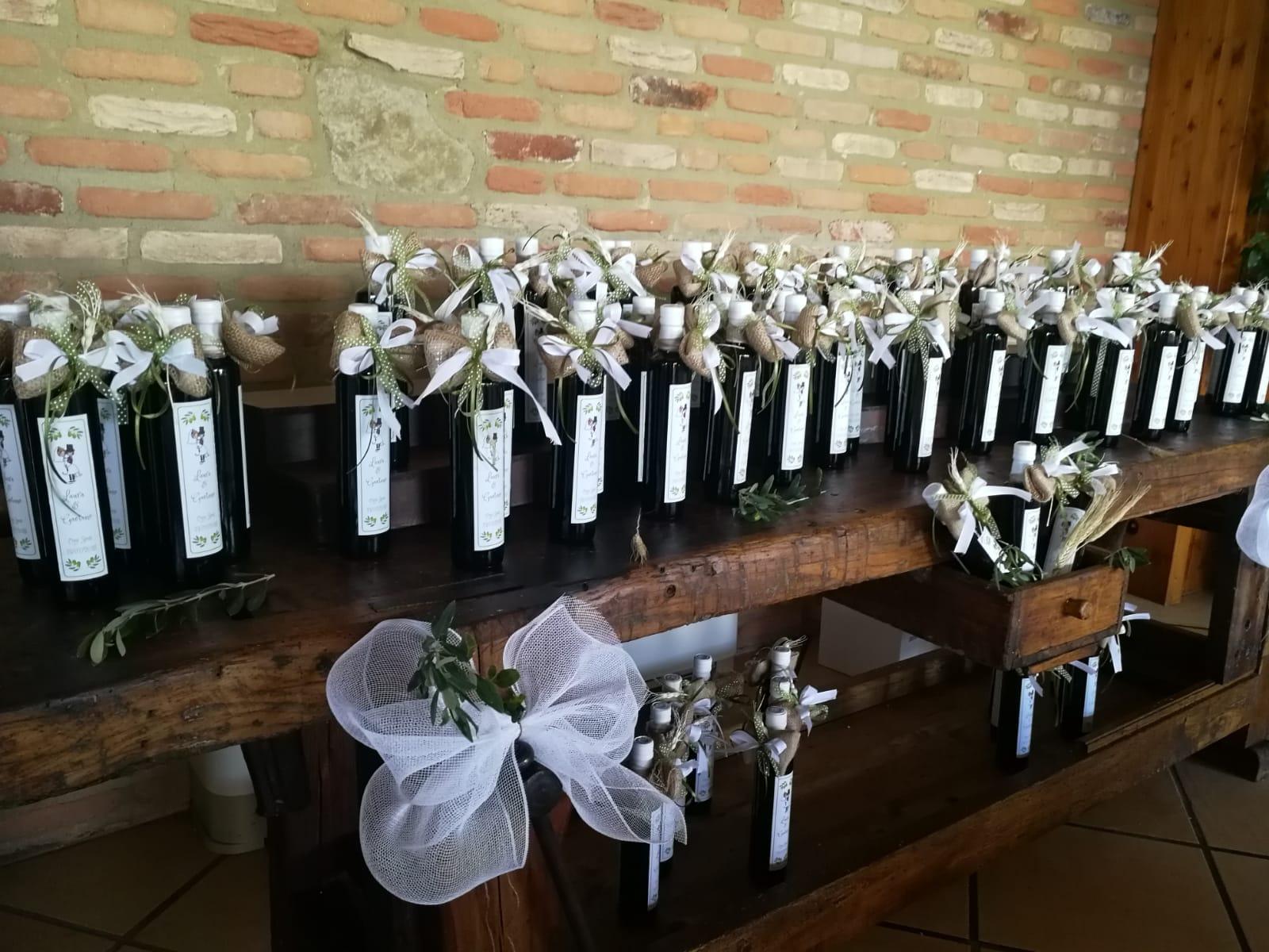 bottiglia personalizzata per matrimonio