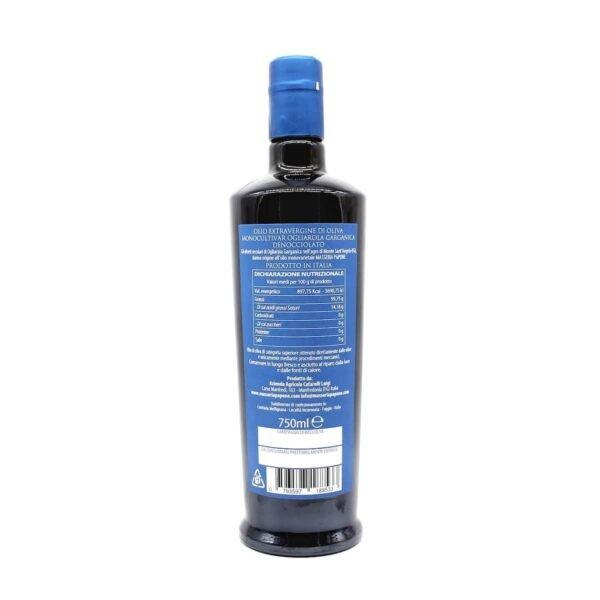Olio Denocciolato Bottiglia da 0,75 Litri