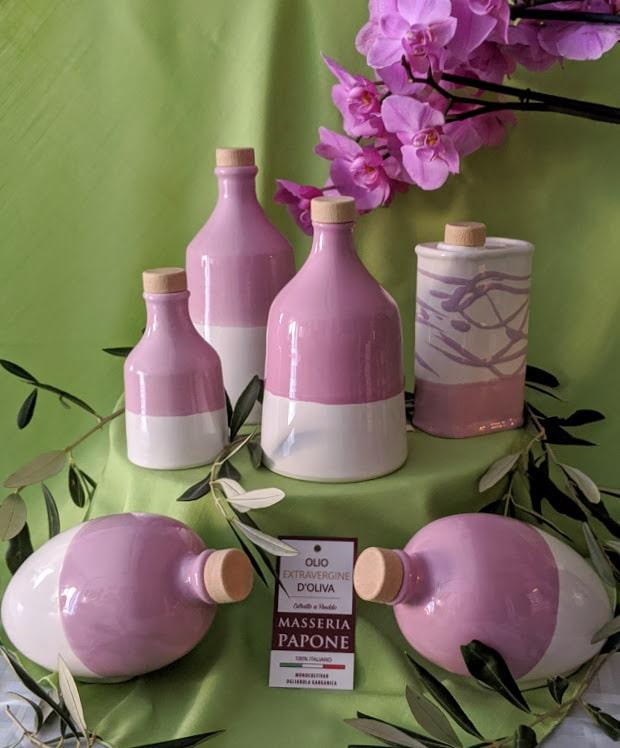 """Lattine in Ceramica """"ORO DI PUGLIA"""""""